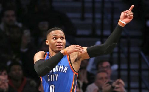 Oklahoma City Thunder paga mais que o dobro por quarta vitória seguida na NBA.