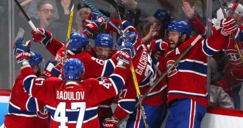 Hockey - NHL - NHL : Montréal égalise à une victoire partout face aux New York Rangers