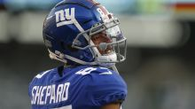A Sterling Shepard celebration turned into another lesson for Giants