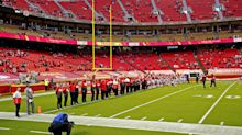 Chiefs lock arms in show of unity during 'Lift Every Voice and Sing'