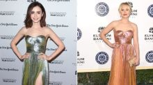 Fashion Battle: Lily Collins vs. Kristen Bell