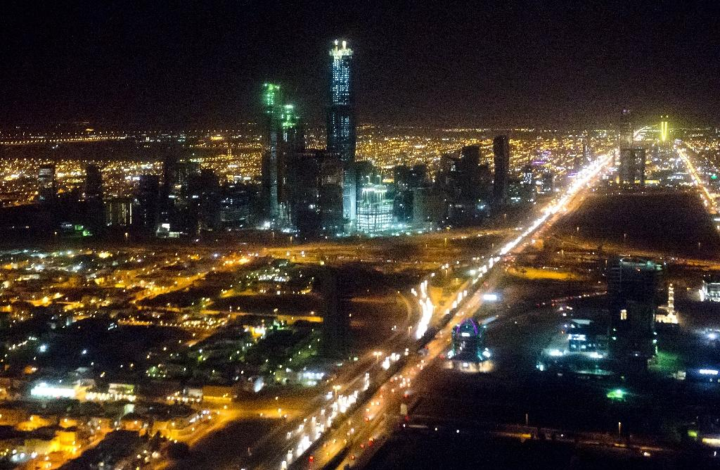 The skyline of Riyadh, where a new entertainment park, sports boulevard, tree-lined oasis and an arts centre are planned