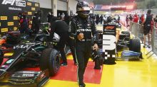 Lewis Hamilton shines in wet conditions to take pole position in Austria