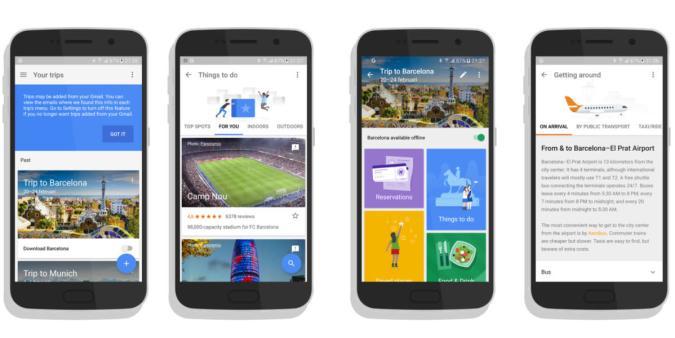 Google Trips: Erste Reise-App aus Mountain View geleakt