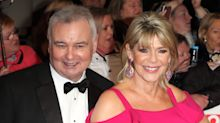Ruth Langsford keeps her mum safe with kiss through window