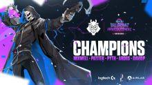 G2 gewinnt WePlay! Invitational