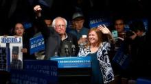 Sanders defeats Clinton in Indiana, throwing wrench in her pivot to November