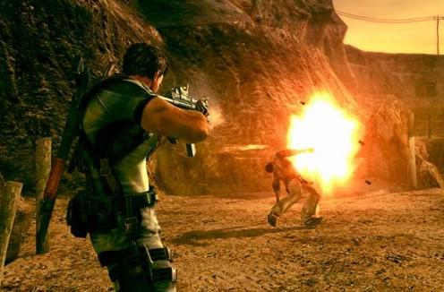 Confirmed: no run-and-gun in Resident Evil 5. Ever.