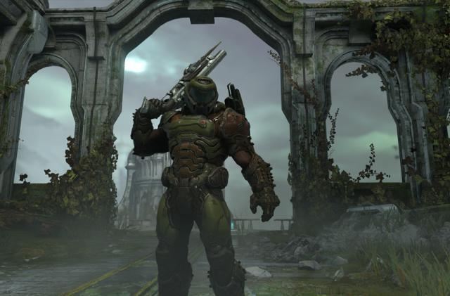 'Doom Eternal' classic mode recreates the original game's aesthetics