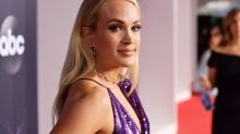 Carrie Underwood's Right Leg Wins the 2019 American Music Awards Red Carpet