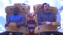 What a scream! Stars love roller coasters
