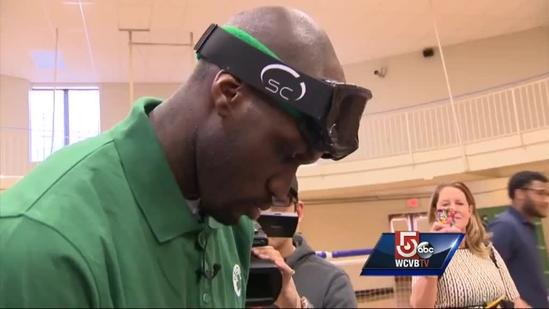 Boston Celtics stars learn whole new game