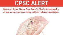 Fisher-Price Issues Warning After 10 Babies Die In Rock 'N Play Sleeper