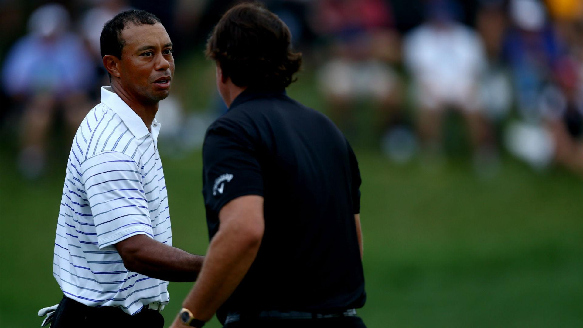 tiger woods and phil mickelson will reportedly be paired