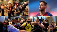 Outraged fans storm Barcelona's stadium in wild Messi protests