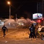 Protesters, police clash during 2nd night of protests over disputed Belarus election