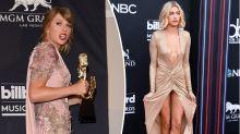Taylor Swift and Hailey Baldwin suffer wardrobe malfunctions at Billboard Awards