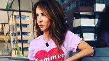 María Patiño responde a las críticas por su extrema delgadez