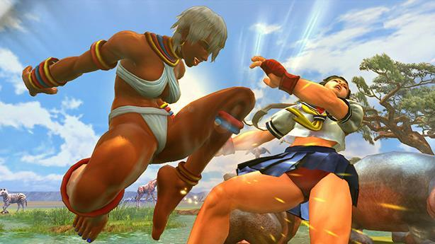 Ultra Street Fighter 4 adds fight requests to training mode
