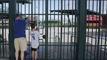 Arizona officials want MLB to stall start