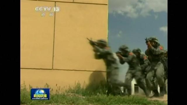 China, Russia and Central Asian countries begin anti-terror drill