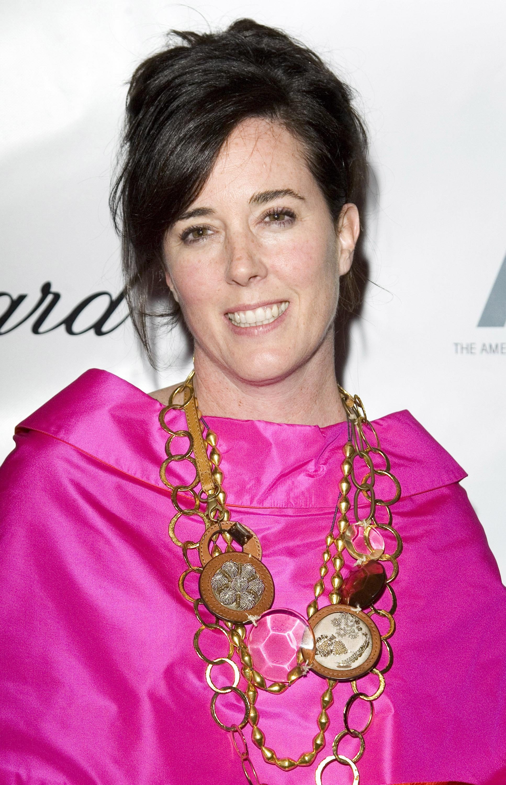 Designer Kate Spade, 55, found dead in apparent suicide