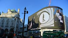 Bond trailer lights up Piccadilly Circus in world first