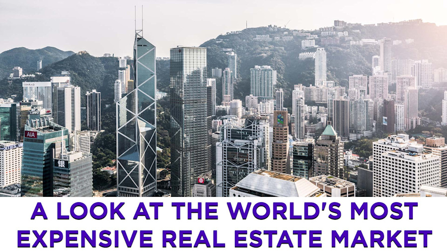 Hong Kong is the world's most expensive place to buy a home