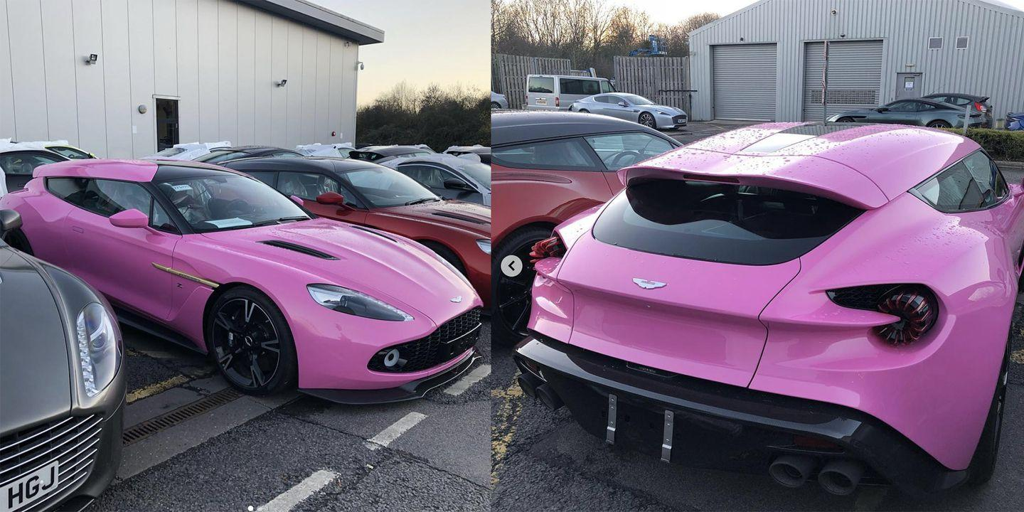 someone ordered their aston martin vanquish zagato shooting brake in