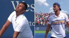 'You cannot be serious': Ballsy Kyrgios play stuns tennis world
