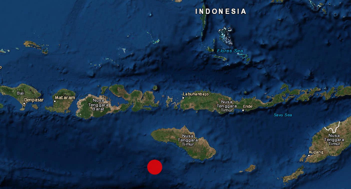 6.1 magnitude earthquake hits Indonesia's central island