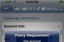 iPhone OS 3.1 now enforces Exchange encryption policy, may block pre-3GS iPhones