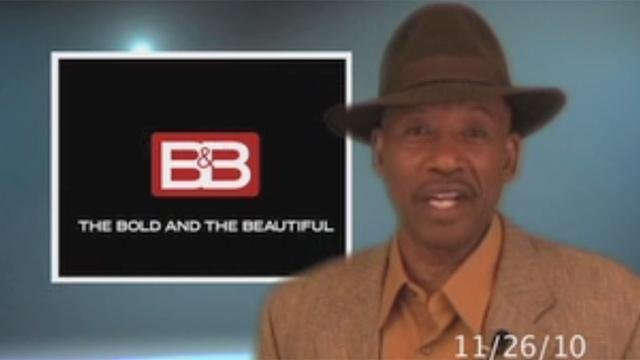 The Bold and the Beautiful - Weekly Clarence Recap: 11.22.10