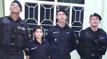 Menino autista que só tinha dois amigos para convidar ao aniversário recebe surpresa de policiais em RO