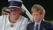 Prince Harry describes being at Princess Diana's funeral