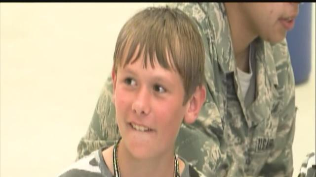 MacDill teaches kids about realities of deployment