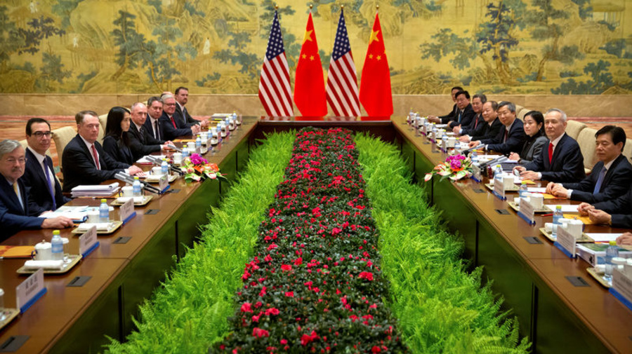 U.S., China sketch outlines of deal to end trade war