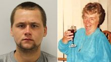 Burglar, 23, who murdered and sexually assaulted pensioner jailed for life