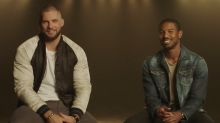 'Creed II' stars Michael B. Jordan and Florian Munteanu got tested on British boxers and failed pretty hard