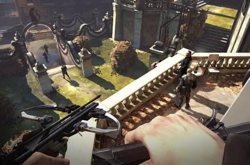Dishonored screens take a stab at ... well, everything