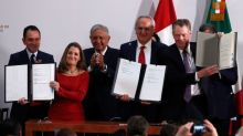 Canada signs revised North American trade deal, clearing way for ratification