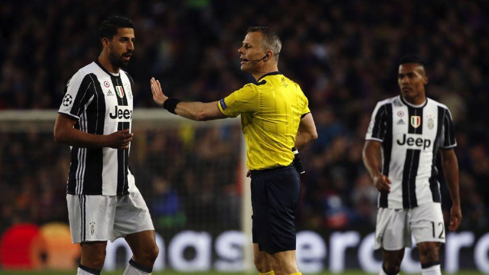 Juventus, costa caro a Khedira il giallo del Camp Nou: niente semifinale