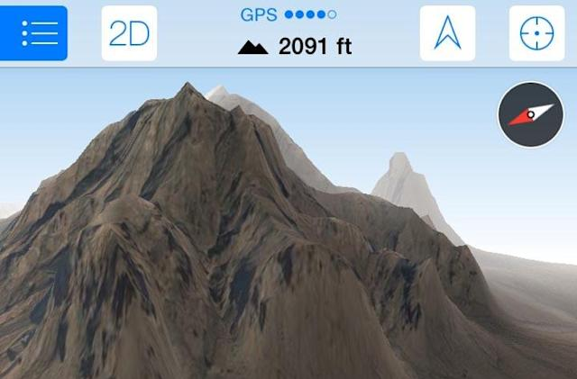 Maps 3D PRO is a best in class GPS/Nav app for outdoor enthusiasts