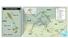 Erdene Provides Regional Exploration Update; High-Grade Gold Intersected at Altan Arrow, 70 g/t over 2 metres, 3.4 Kilometres North of Bayan Khundii