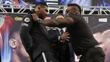 Joshua-Miller fight promo gets a little intense