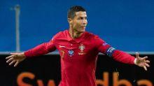 Portugal star Ronaldo becomes second men's player to reach 100 international goals