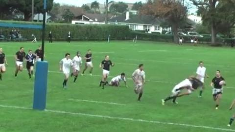 Massive rugby hit greeted with gasps