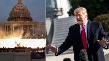 'Tremendous danger': Trump breaks silence on Capitol riots, slams 'ridiculous' move