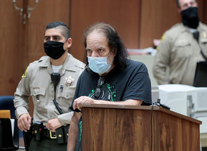 Porn star Ron Jeremy charged with seven more sex crimes