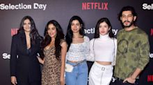 Kapoor sisters turn heads at special screening of 'Selection Day'